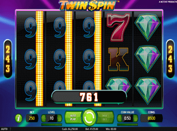 Бонусная игра Twin Spin 6