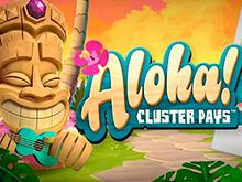 Онлайн слот Aloha Cluster Pays от NetEnt с призовым раундом фриспинов